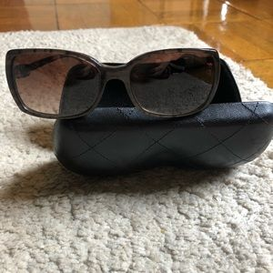 Chanel logo sunglasses